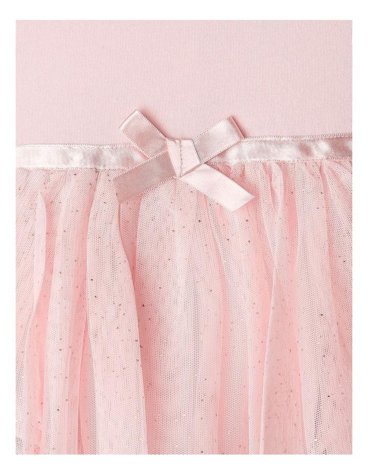 Princess Bow Tulle Dress Bodysuit image 3