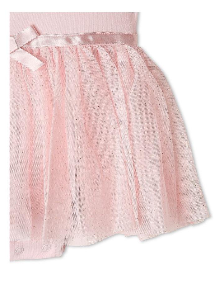 Princess Bow Tulle Dress Bodysuit image 4