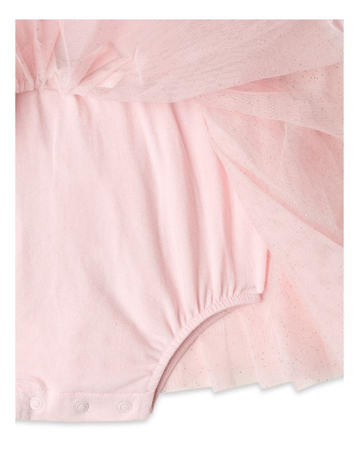 Princess Bow Tulle Dress Bodysuit image 5