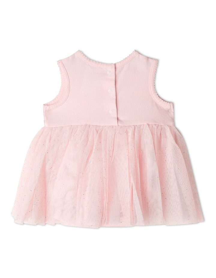 Princess Bow Tulle Dress Bodysuit image 6