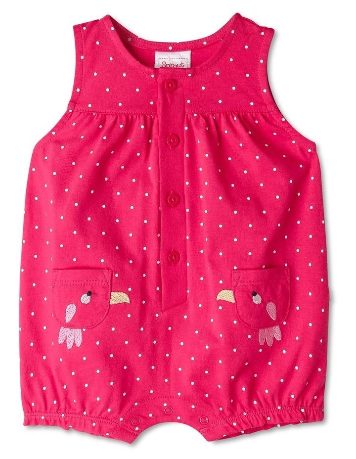 Ella Bird Pocket Polka Dot Print Bodysuit image 1