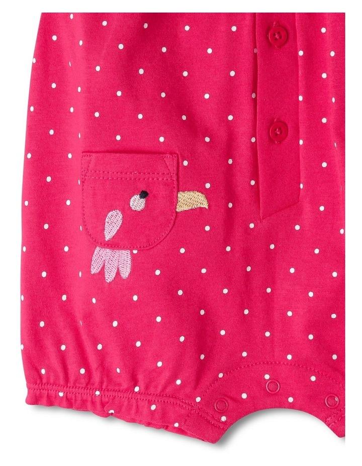 Ella Bird Pocket Polka Dot Print Bodysuit image 2