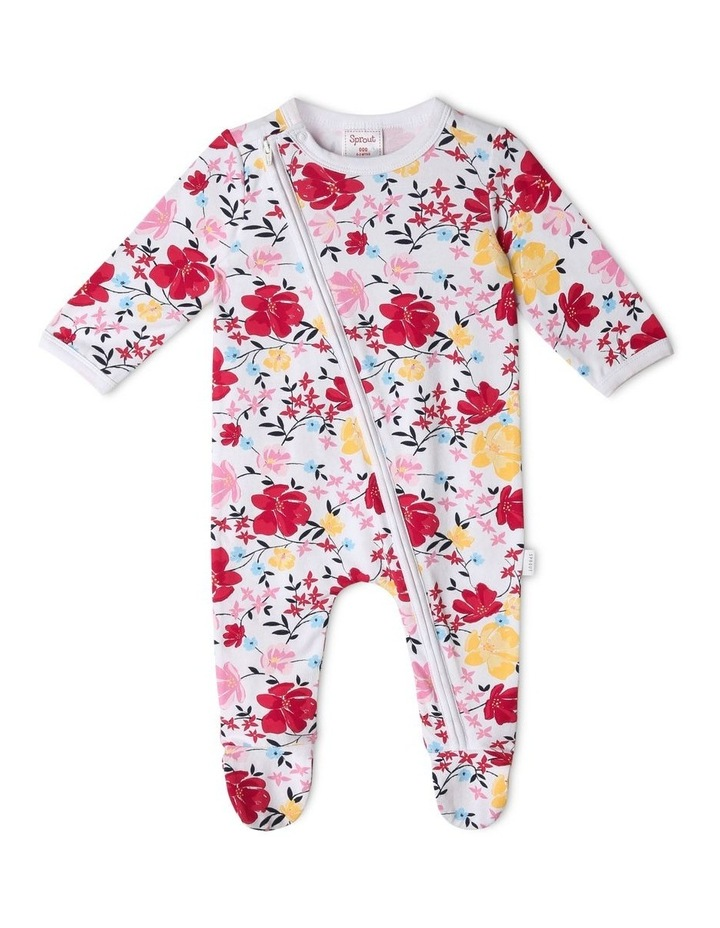 Organic Essential Floral & Vines Coverall image 1