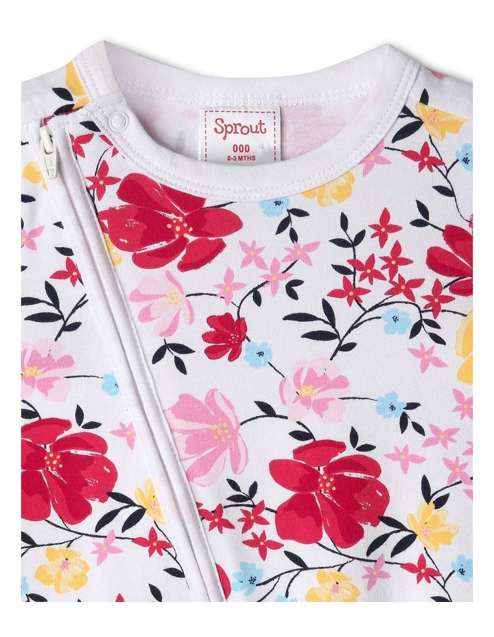 Organic Essential Floral & Vines Coverall image 2