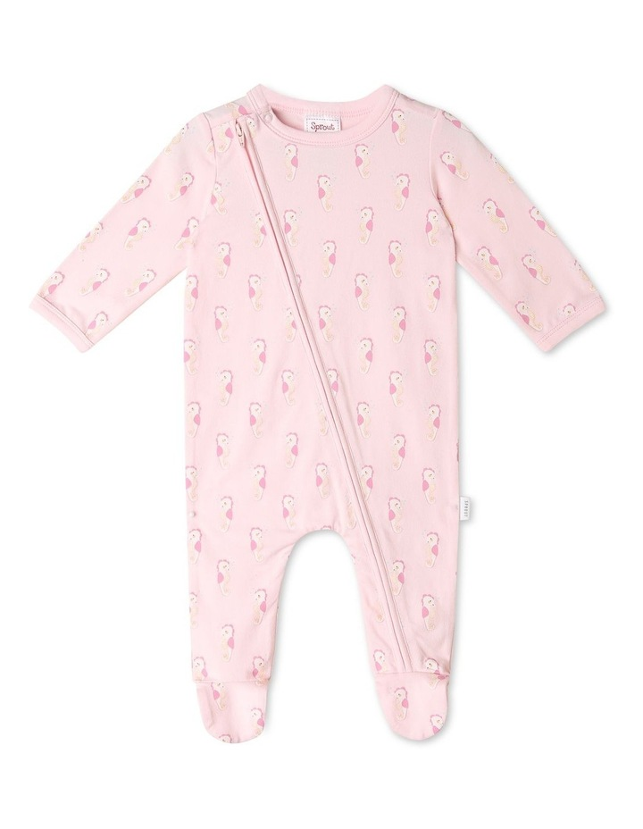 Organic Essential Seahorse Coverall image 1