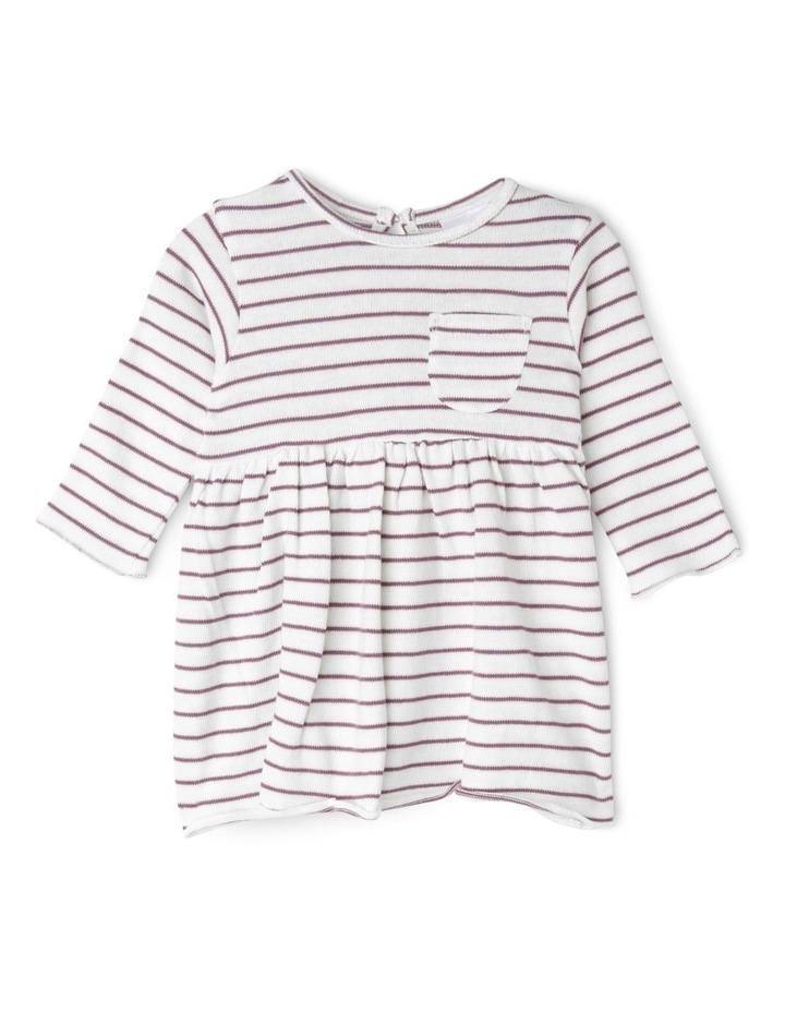 Girls Knit Pocket Dress image 1