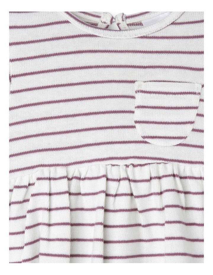 Girls Knit Pocket Dress image 2