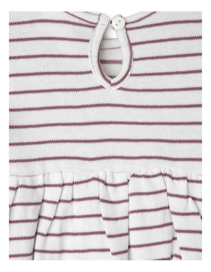 Girls Knit Pocket Dress image 3