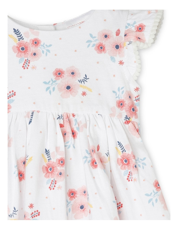 Flutter Sleeve Dress with Bloomer NGS19013-CW1. image 2
