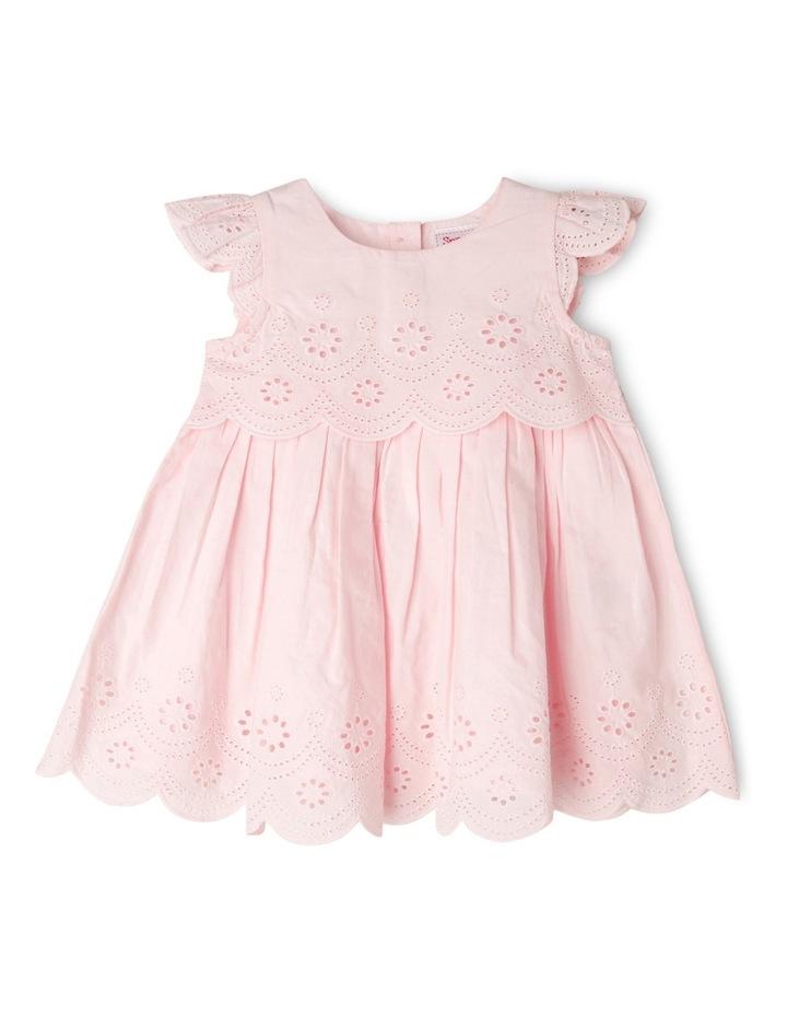 Girls Broderie Dress image 1