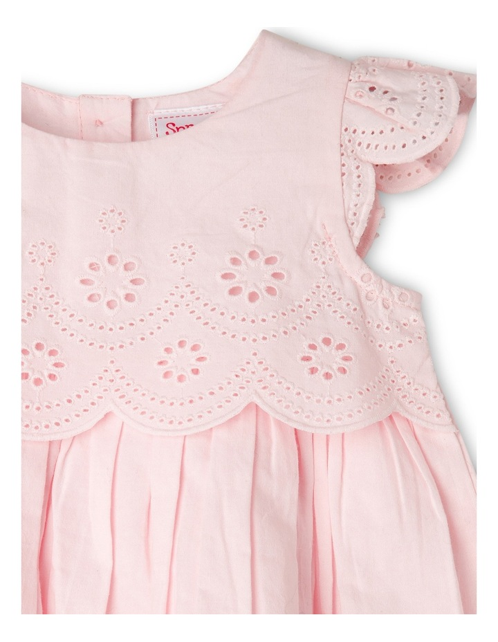 Girls Broderie Dress image 2