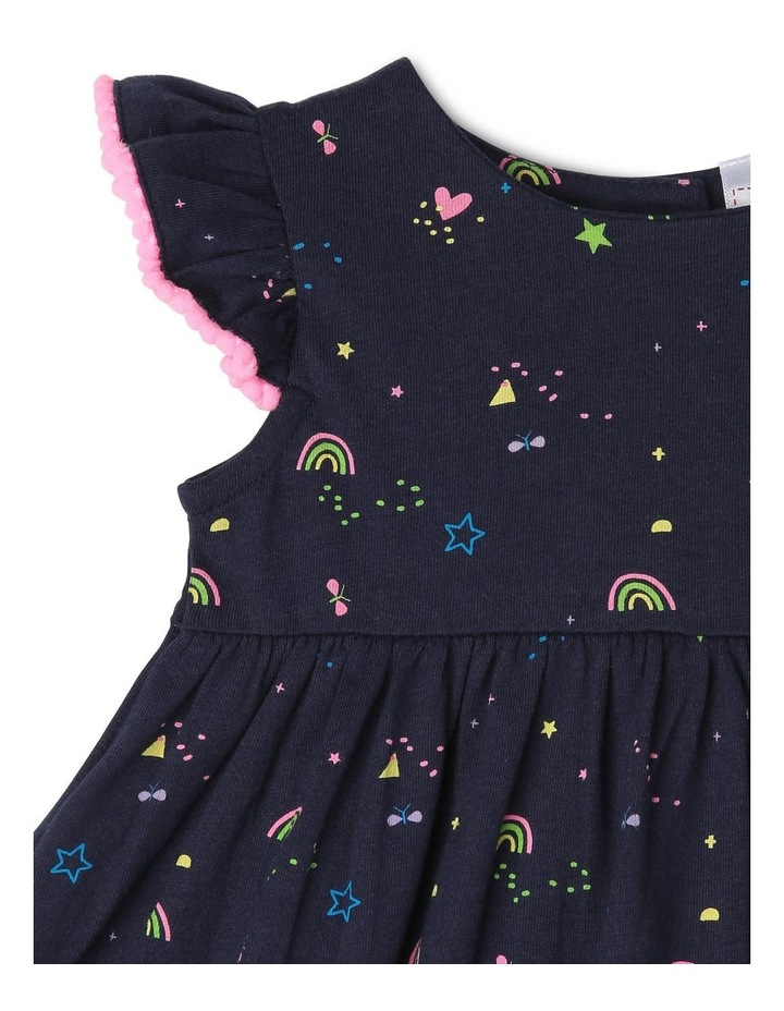Flutter Sleeve Knit Dress image 3