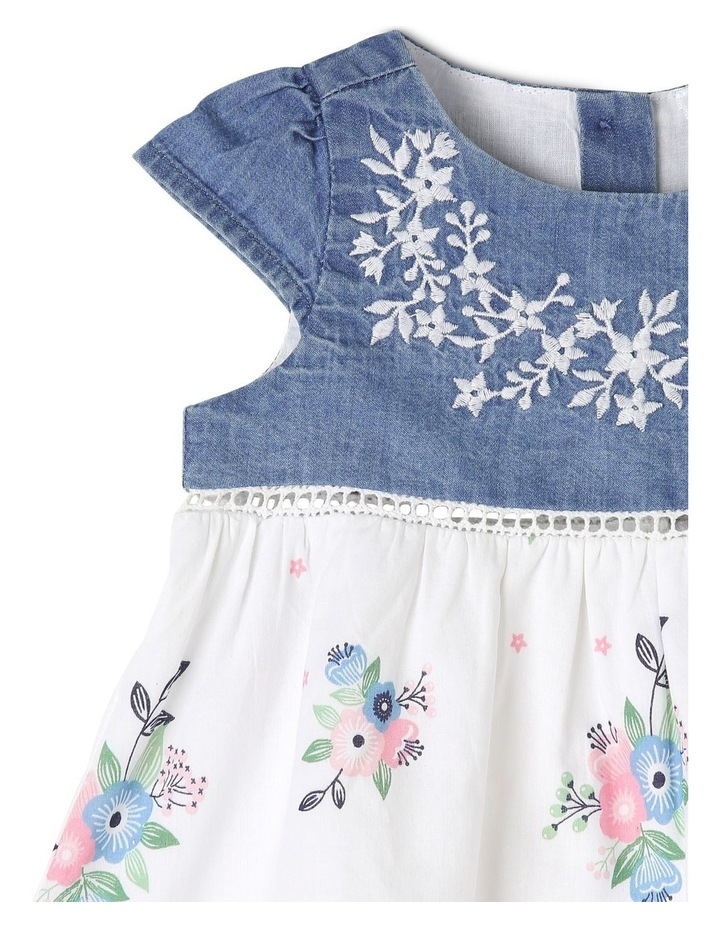 Cap Sleeve Party Dress With Bloomer image 3