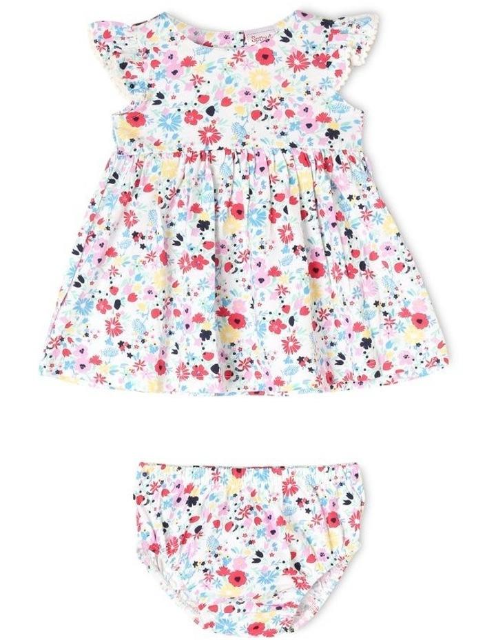 Flutter-Sleeve Knit Dress image 1