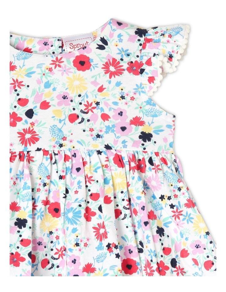 Flutter-Sleeve Knit Dress image 2