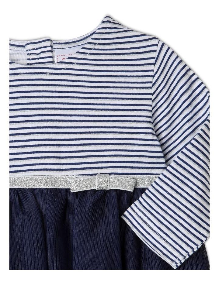 Yarn-Dye Striped Occasion Dress image 2