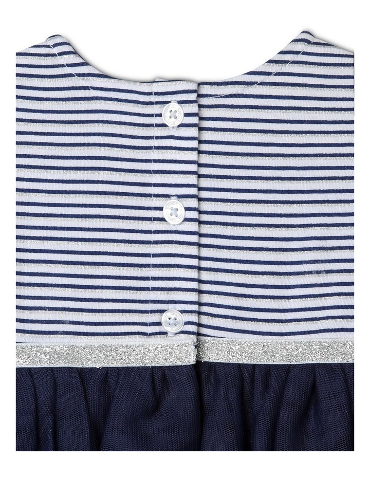 Yarn-Dye Striped Occasion Dress image 3