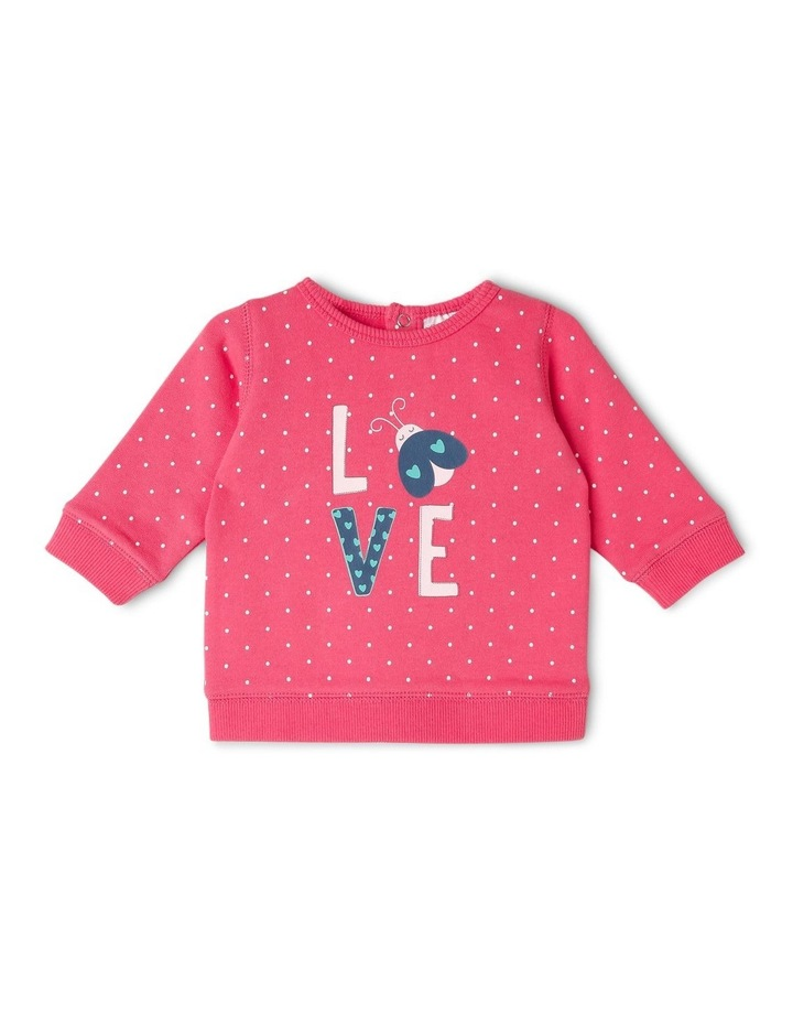 Essential Floral Sweat Top image 1