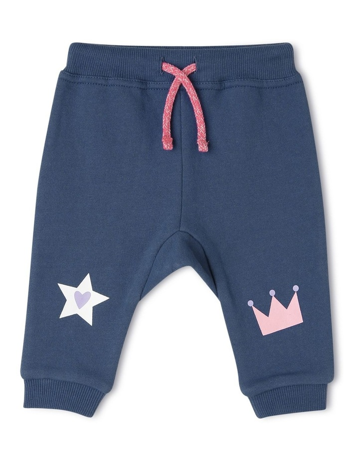 Essential Crown & Star Trackpant image 1