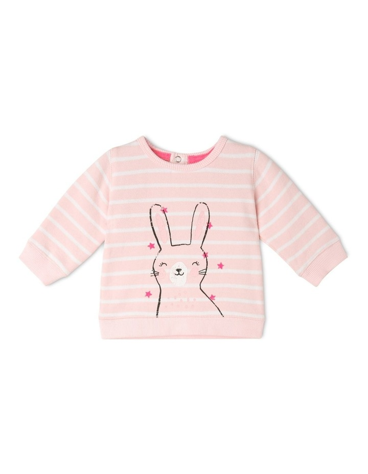 Essential Pale Pink Sweat Top image 1