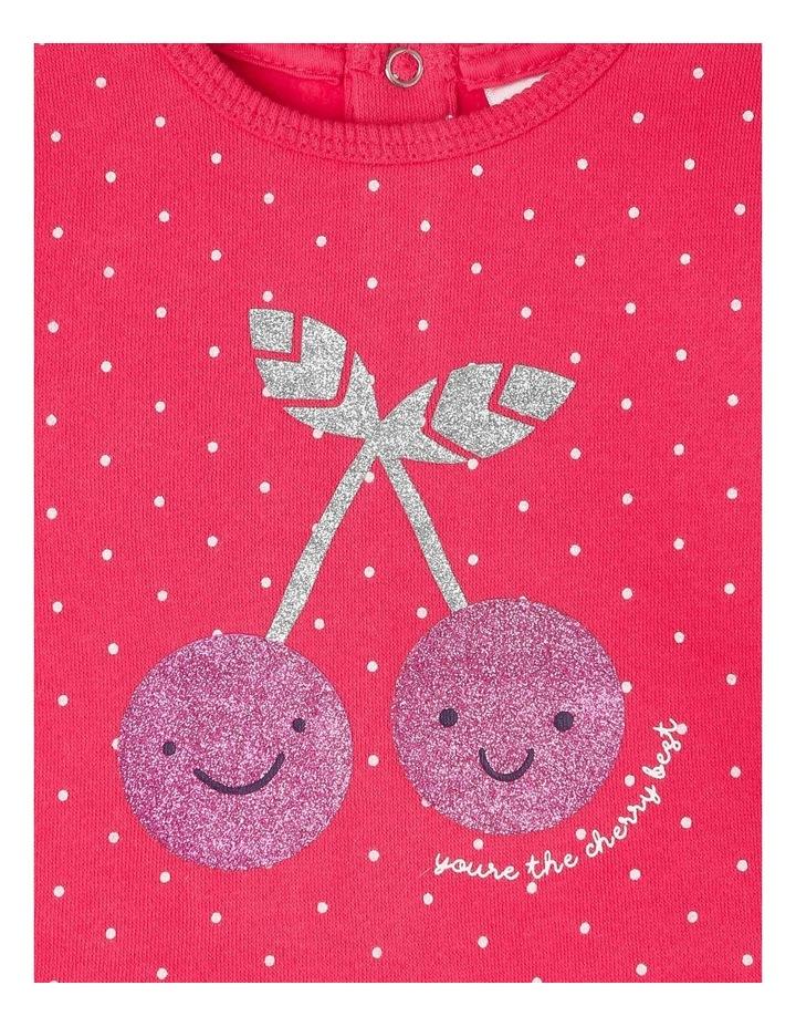 Essential Raspberry Sweat Top image 2