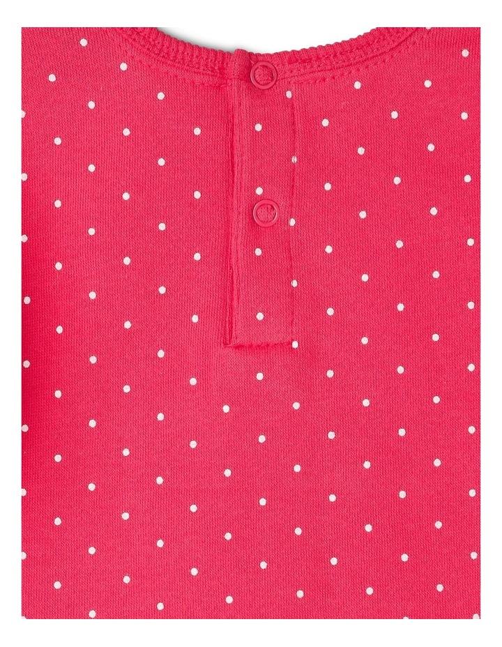 Essential Raspberry Sweat Top image 3