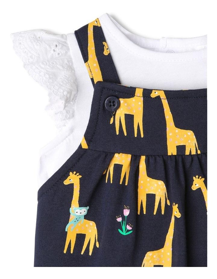Giraffe Print Overall Set image 2