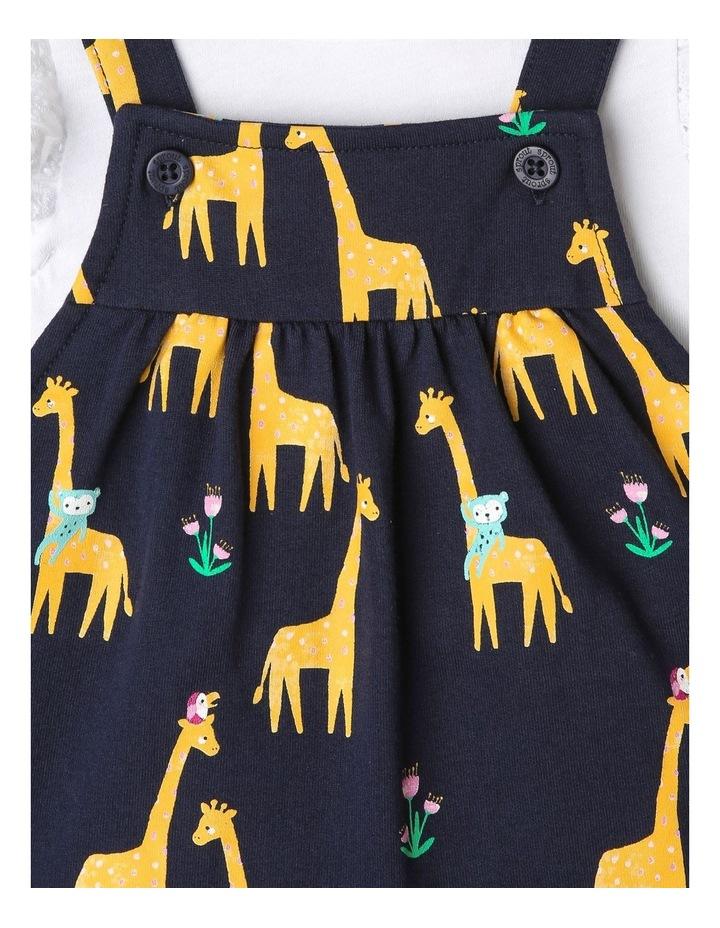 Giraffe Print Overall Set image 3