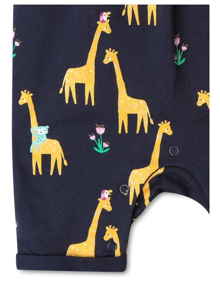 Giraffe Print Overall Set image 4