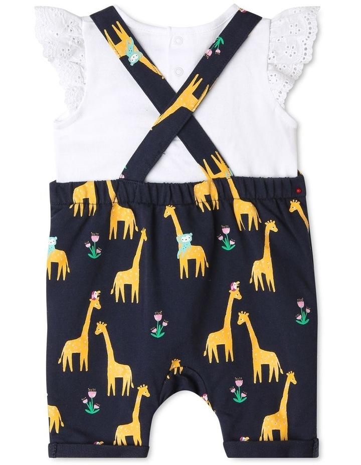 Giraffe Print Overall Set image 5