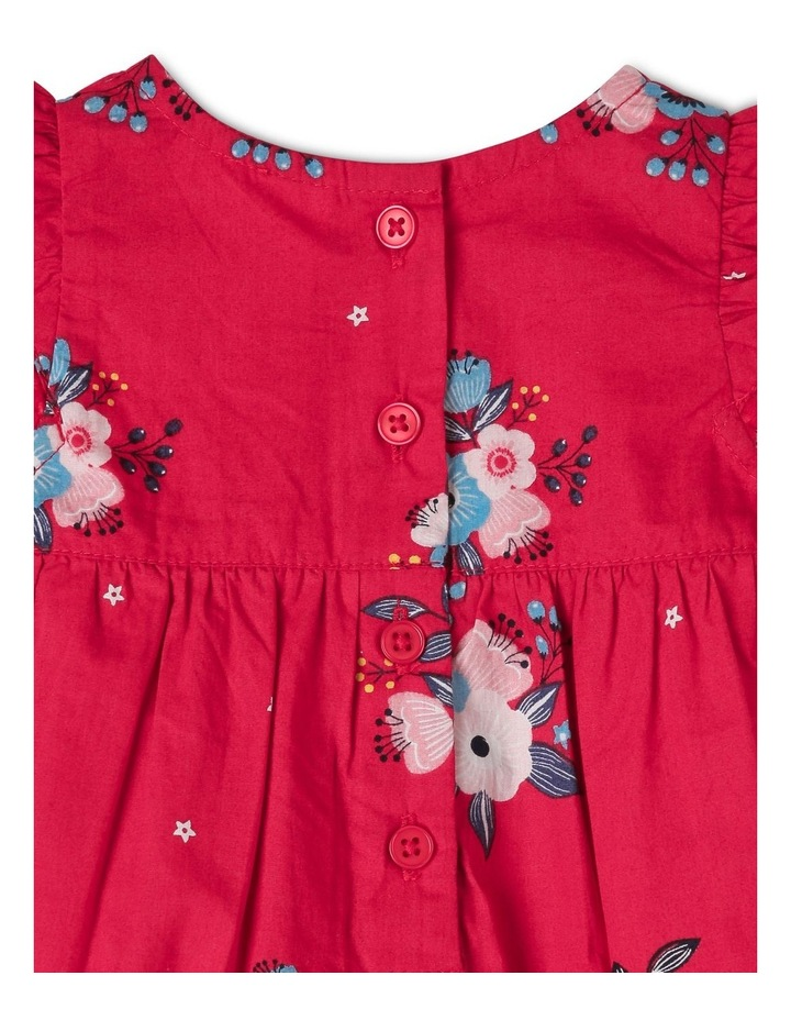 Woven Romper With Bows image 5
