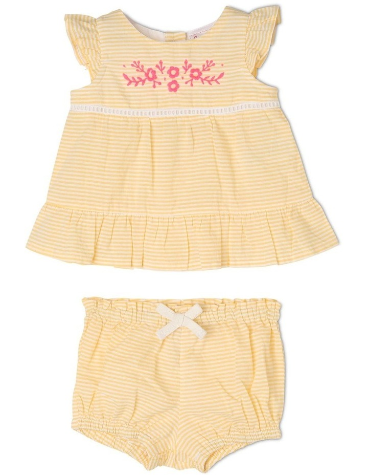 Woven Top And Bloomer Set image 1