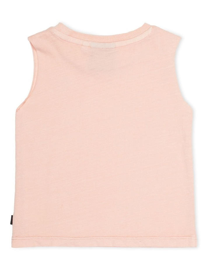 Mucho Muscle Tee Pink image 2