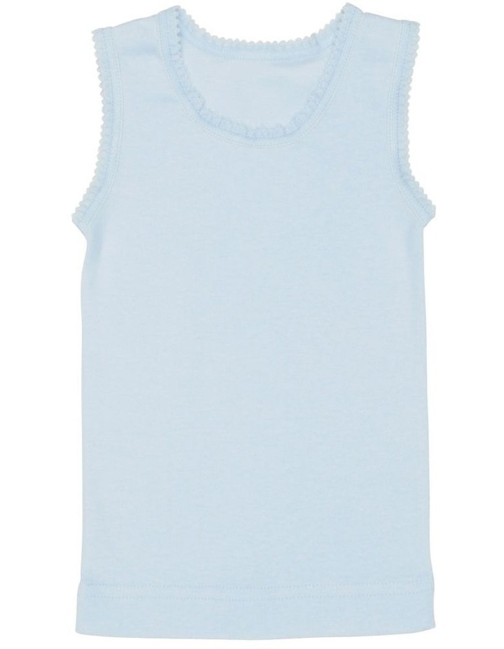 3 Pack Embroidered Singlet image 3
