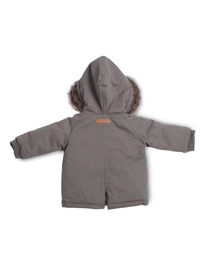 PR Boy Coat With Fur Trim Hood image 2