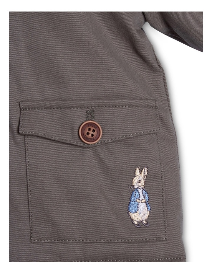 PR Boy Coat With Fur Trim Hood image 3