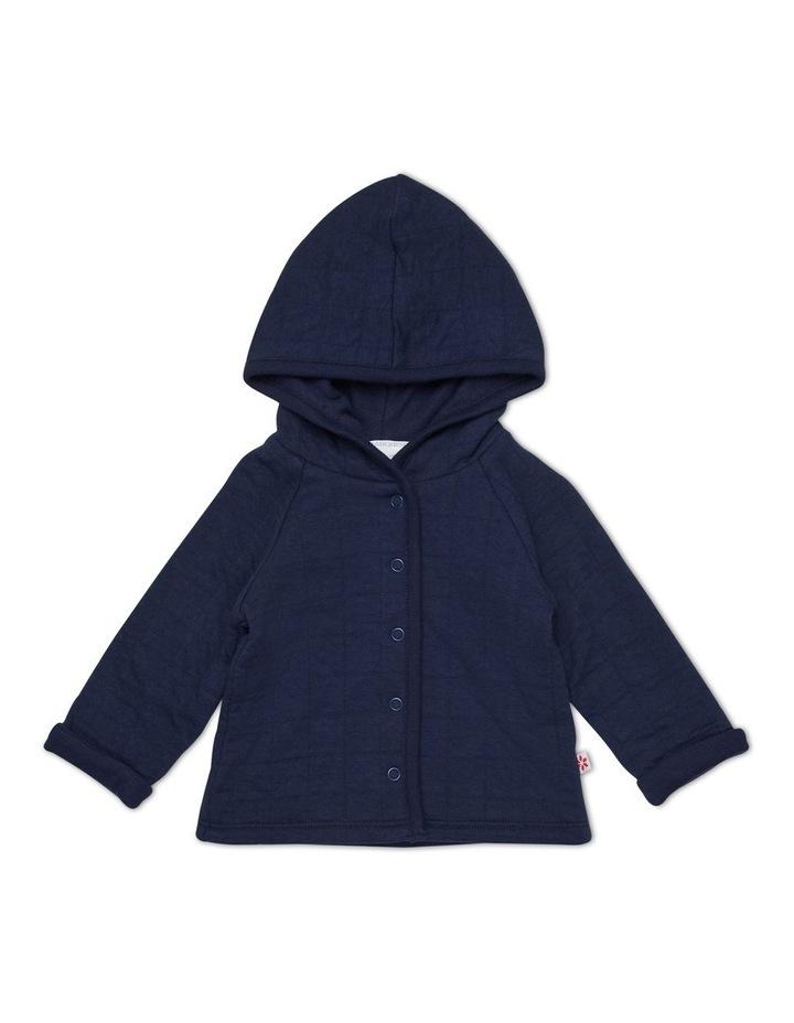 Hooded Jacquard Jacket image 1
