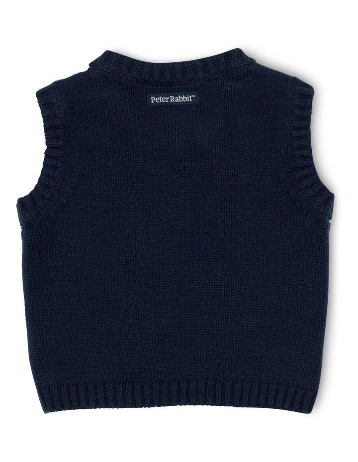 Boys Fully Fashioned Knit Vest image 2