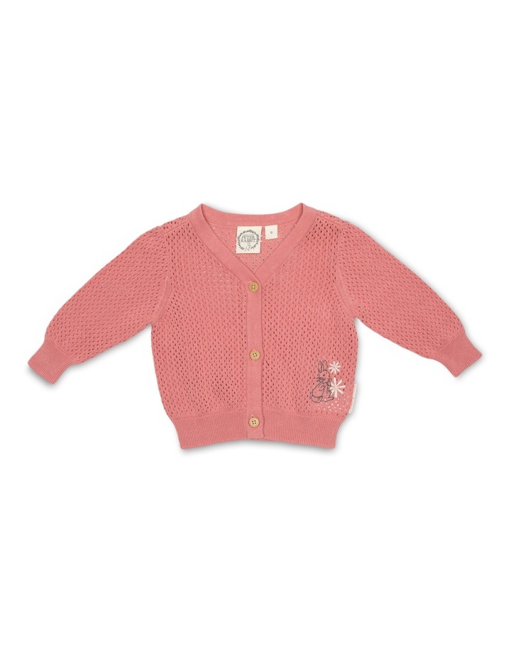 Girls Pointelle Cardigan image 1