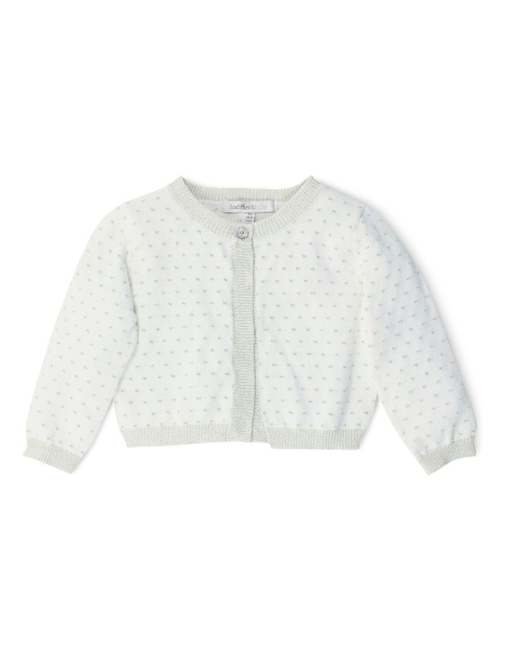 High Tea Lurex Cardigan image 1