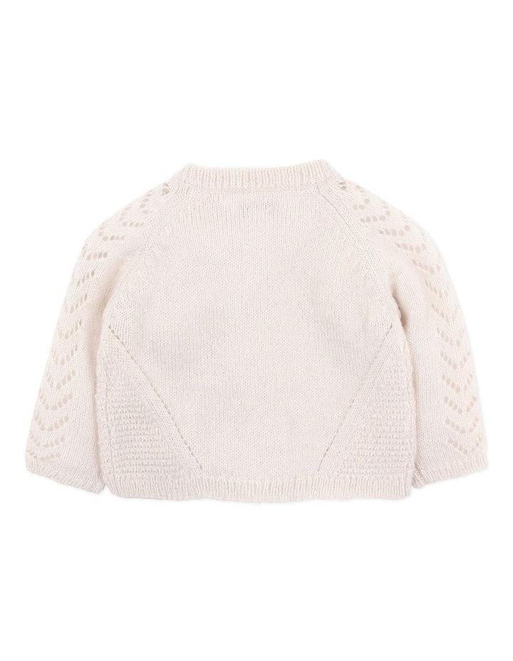 Wool Blend Knit Cardigan image 2