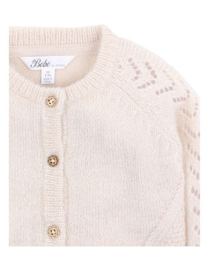 Wool Blend Knit Cardigan image 3