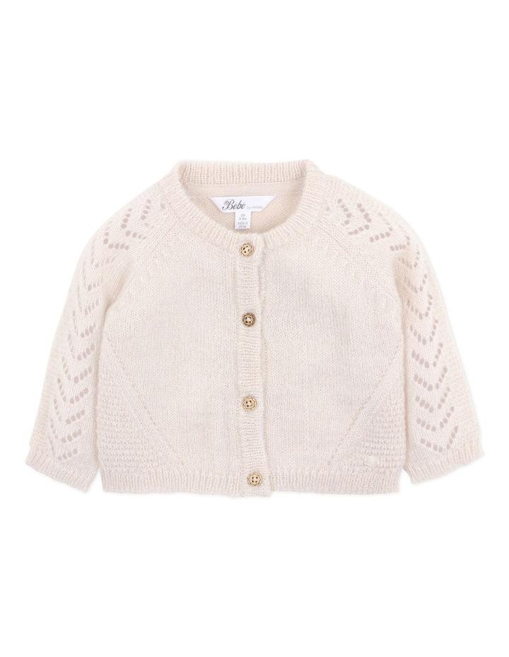 Wool Blend Knit Cardigan 3-7Yrs image 1