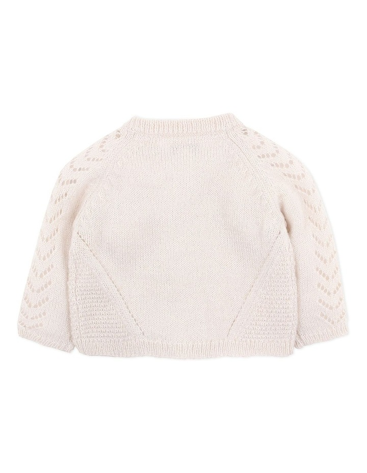 Wool Blend Knit Cardigan 3-7Yrs image 2