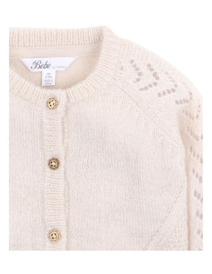 Wool Blend Knit Cardigan 3-7Yrs image 3