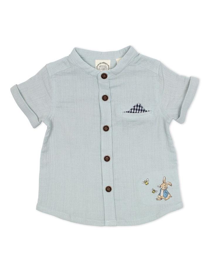 Short Sleeve Double Weave Shirt image 1