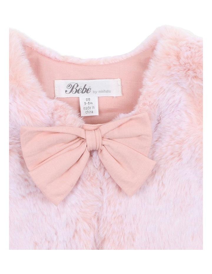 Mila Fur Vest image 3