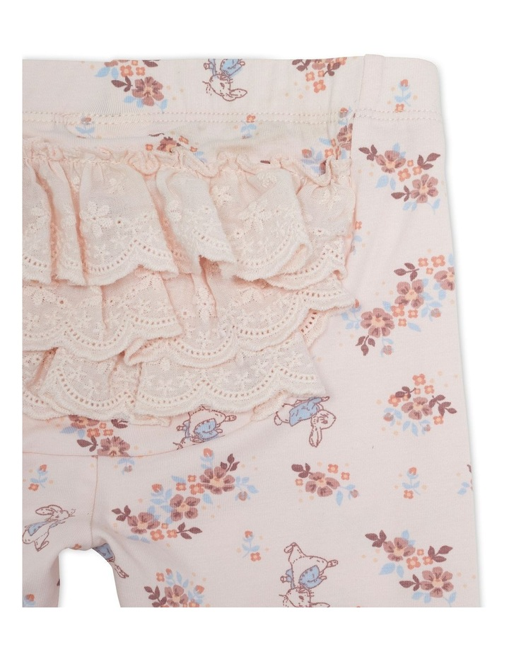 Peter Rabbit Floral Print Legging Pink image 3