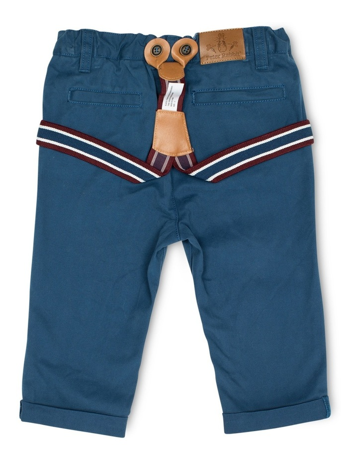 Boys Chinos With Braces image 2