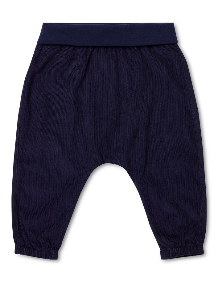 Navy Corduroy Pants image 1